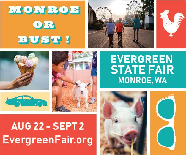Win Evergreen State Fair Tickets!