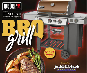 Enter to Win a Brand-New Weber Grill!
